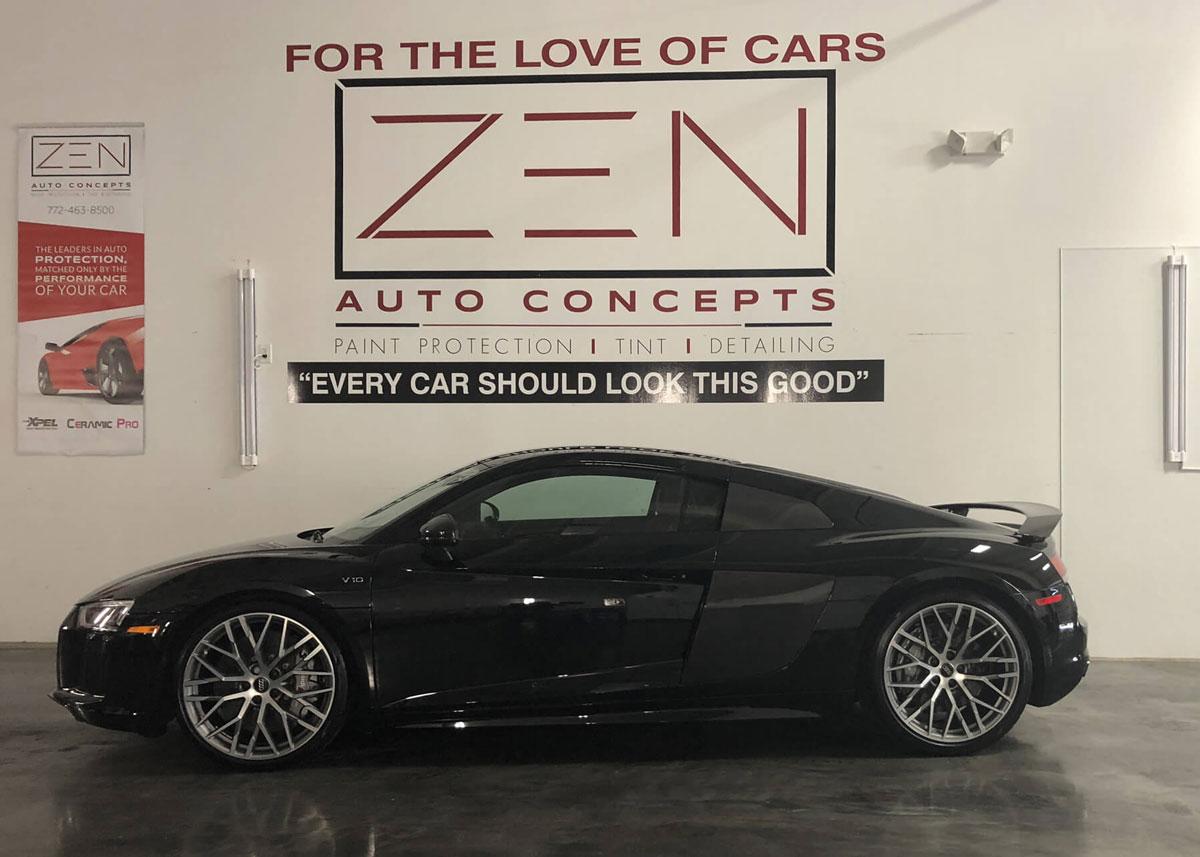 Audi paint protection by Zen Auto Concepts